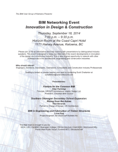 BIM Networking Event